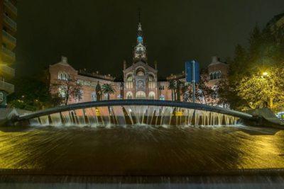 Barcelona. HOSPITAL DE LA SANTA CRUZ Y SAN PABLO