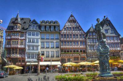 Ciudades del mundo. FRANKFURT