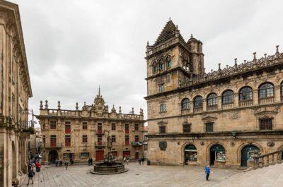 Ciudades de España. SANTIAGO DE COMPOSTELA