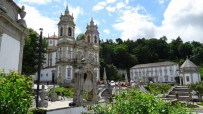 PORTUGAL. Iglesia del santuario de Bom Jesús do Monte