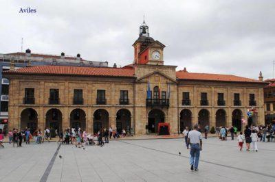 Comarcas de España. AVILES. 2