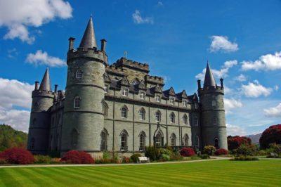 Escocia. CASTILLO DE INVERARAY