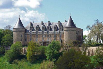 Francia. CASTILLO DE ROCHECHOUART